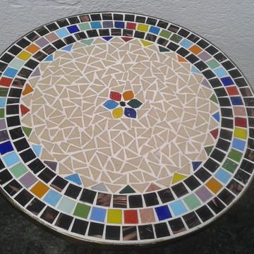 Mesa de Canto Mosaico Varanda