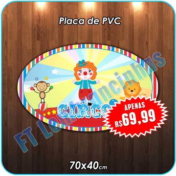PLACA DE PVC