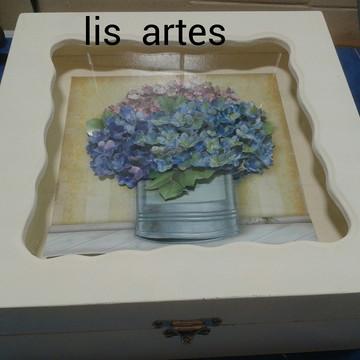 caixa de cha em arte francesa