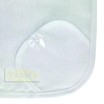 Fralda de Boca Luxo - Branco