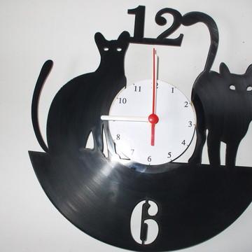 Relógio de Gatos