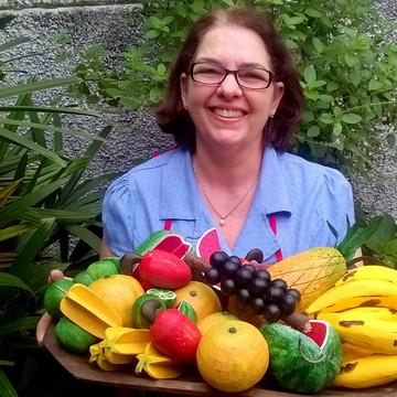 Gamela de frutas