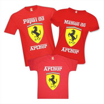 Kit Camisetas de Aniversario Ferrari Festa