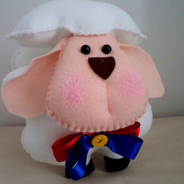 ovelha pequeno príncipe em feltro