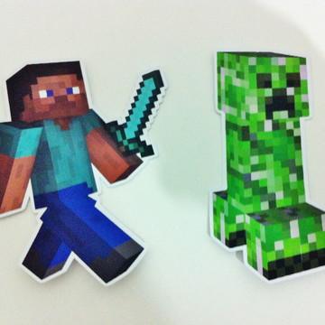 Aplique para Tubete - Minecraft