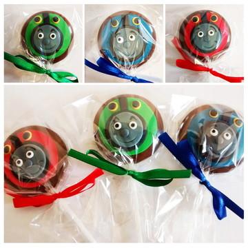 Pirulito de chocolate Thomas e Amigos