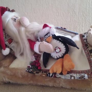 Papai Noel dorminhoco