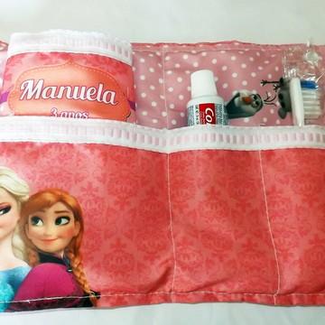 Kit Higiene Frozen Rosa