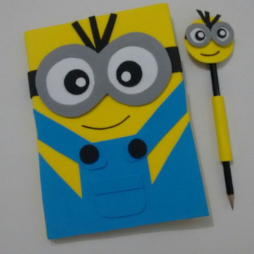Caderno De Desenho Minions