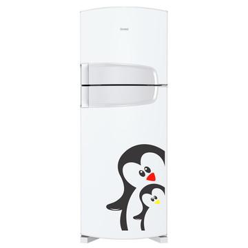 Adesivo geladeira - Pinguim mãe e filho