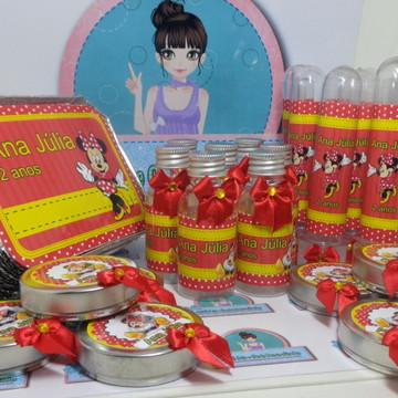 Kit Festa Infantil Personalizado Minie