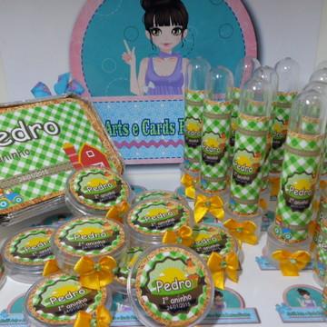 Festa Infantil Personalizado Fazenda