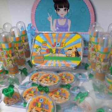 Kit Festa Infantil Personalizado Chaves