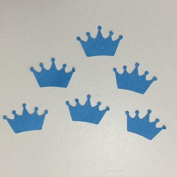 Aplique coroa Pequeno Príncipe