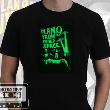 Camiseta Plan 9 From Outerspace Ed Wood