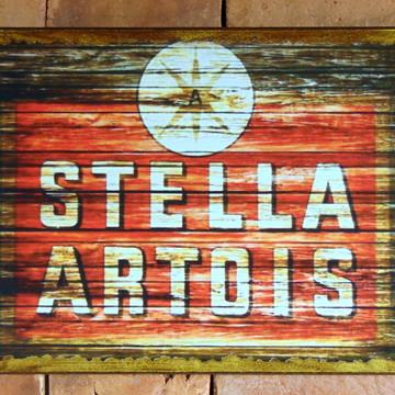 Quadro Vintage - Cerveja Stella