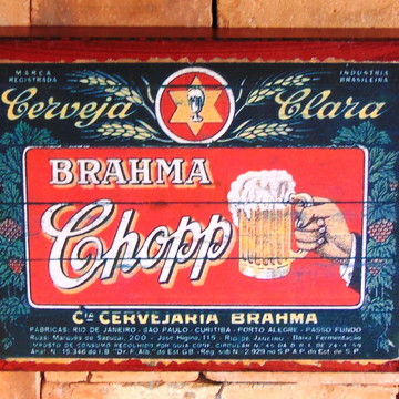 Quadro Vintage Cerveja BR