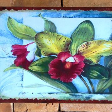 Quadro Vintage - Flores 4