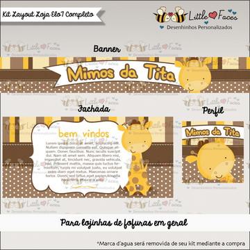 Kit layout para Loja Elo 7 Girafa