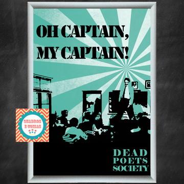 Quadro Sociedade dos Poetas Mortos