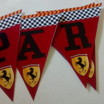 Bandeirolas Ferrari