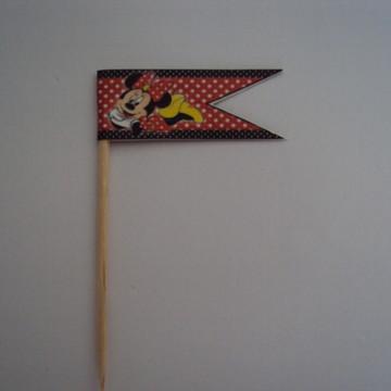Bandeirinha triangulo Minnie 012