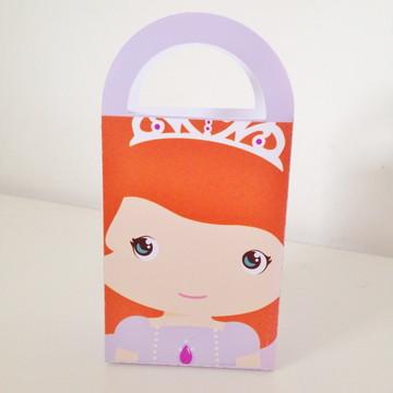 Caixa Sacolinha - Princesa Sofia