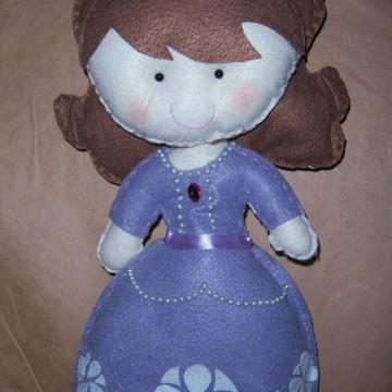 Princesinha Sofia - Personagem de feltro