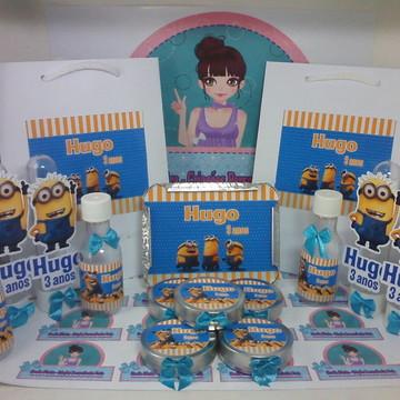 Kit Festa Infantil Minions