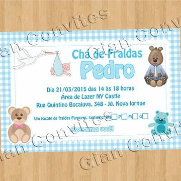 Convite Chá Fraldas