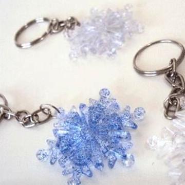 Chaveiro para festa da Frozen