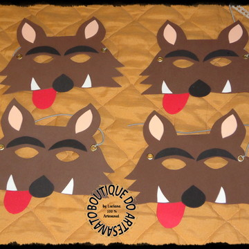 Mascaras do lobo mau