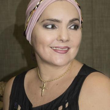 Turbante Rosa com Headband
