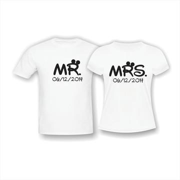 Kit Casal Mr. e Mrs.