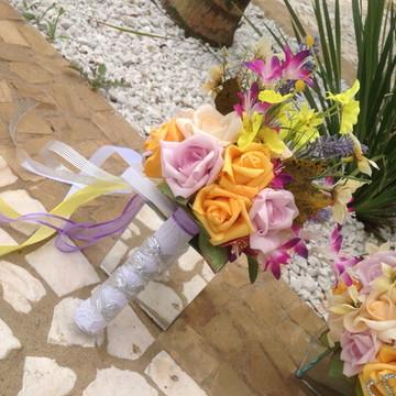 Mini bouquet damas e ou madrinhas