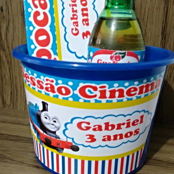Kit cinema Thomas e seus amigos