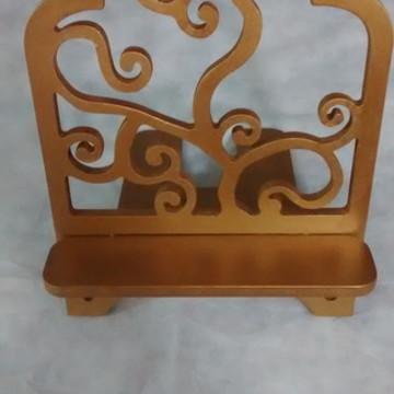 Porta Bíblia, em madeira, mdf,decorado