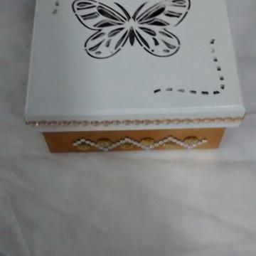 Caixa em madeira,mdf,decorada