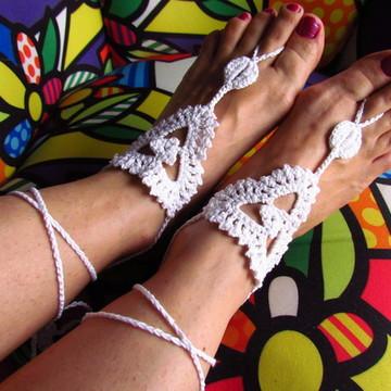 Sandália descalça Atena