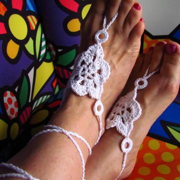 Sandália descalça Afrodite