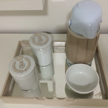 Kit Higiene príncipe porcelana