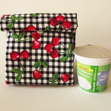 Lunch Bag Saquinho Térmico - Pequeno