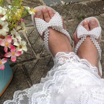Havaianas Pérola Noiva 1