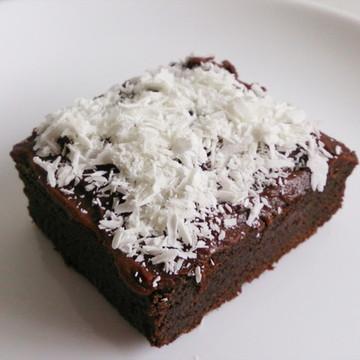 Brownie com Cobertura