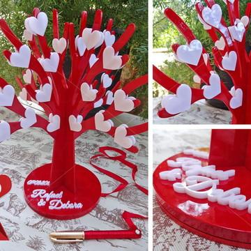 Árvore de Assinaturas - 60 corações