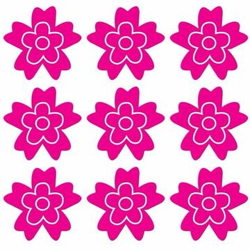 Adesivo Decorativo De Parede Flores Core