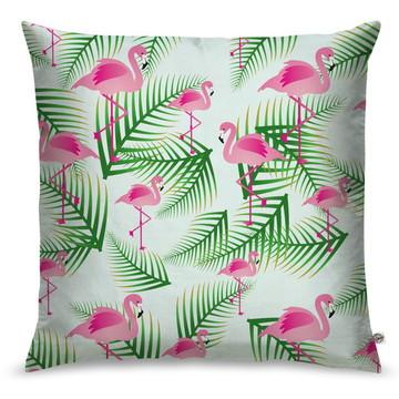 Capa de Almofada Flamingo Pink