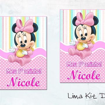 Adesivos Tubetes - Baby Disney