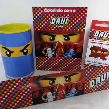 Kit para colorir Lego