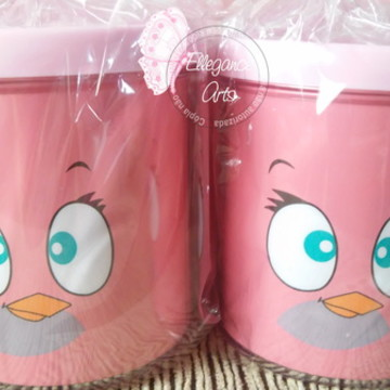 Caneca Personalizada ANGRY BIRDS menina